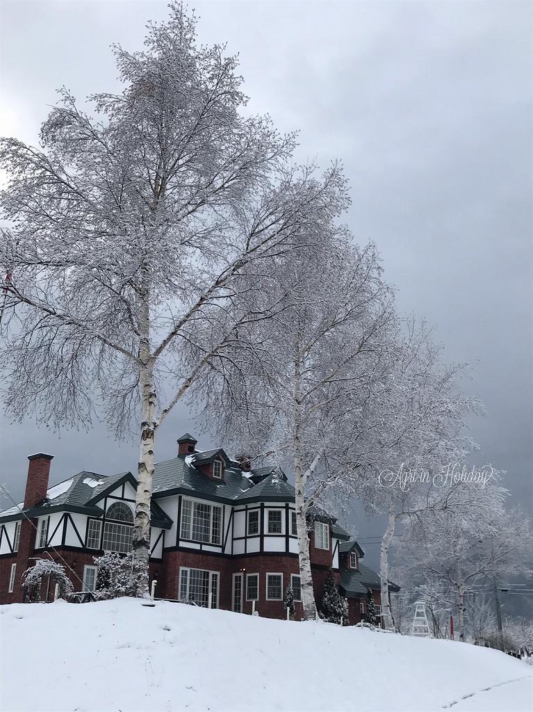 英国貴族の館 アグリインホリデー 冬の風景